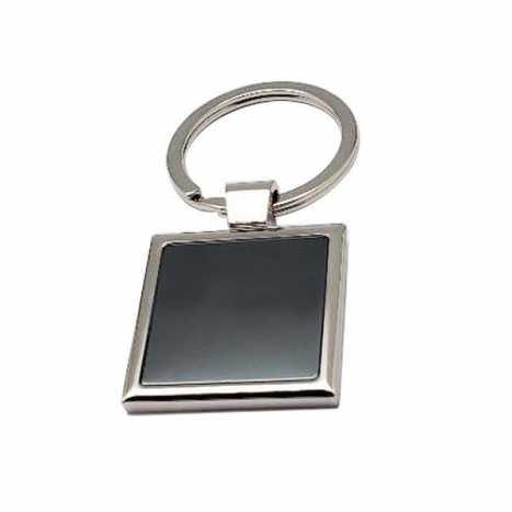 Porte clés métal carre D2