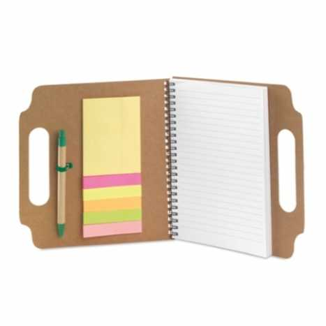 BLOC NOTE AVEC POST IT ET STYLO | 4237