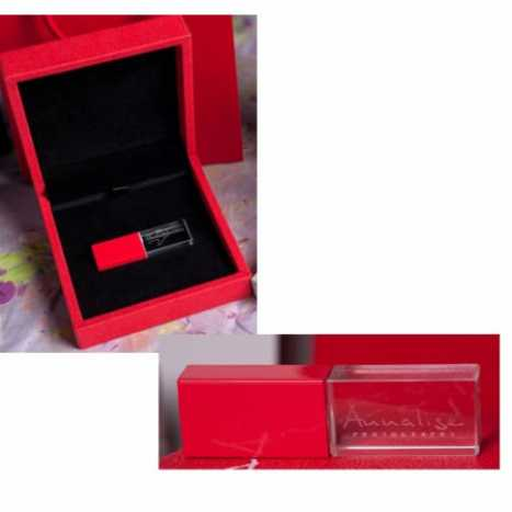 USB CRYSTAL ROUGE