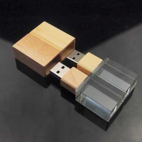 USB BOIS CRYSTAL|7577