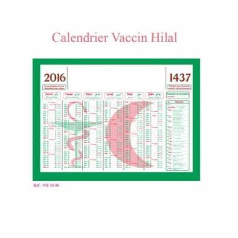 CALENDRIER VACCIN HILAL | 9410