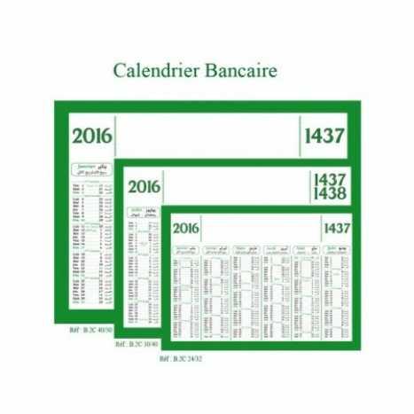 CALENDRIER BANCAIRE | b2c