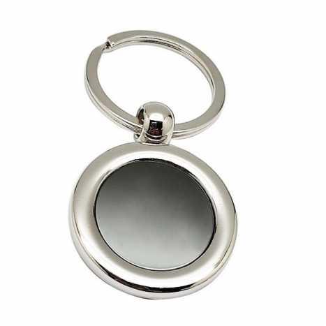 Porte clés métal rond D1