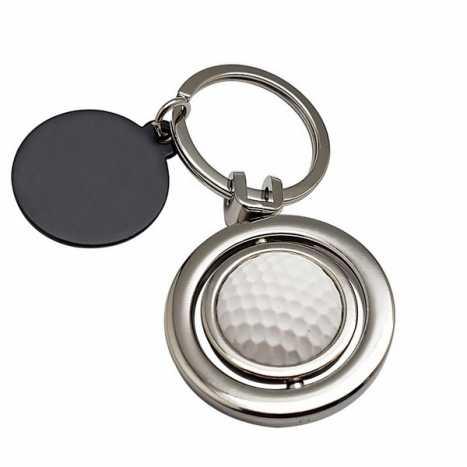 Porte cles golf rotatif D17