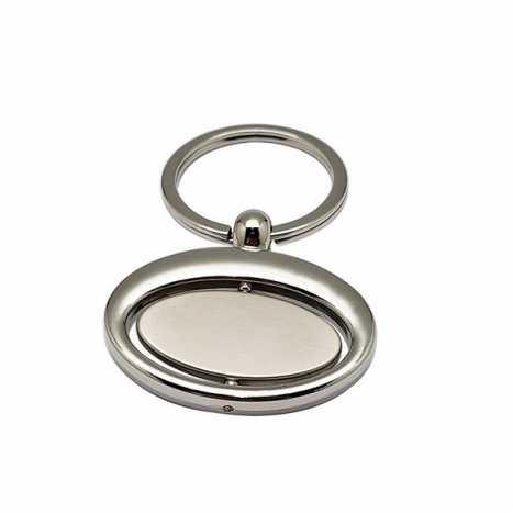 Porte cles ovale rotatif D5
